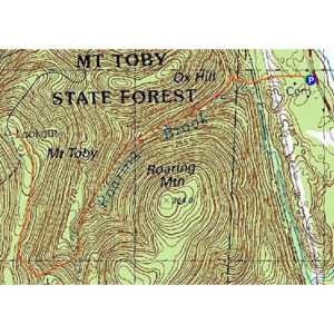 Mt. Toby Reservation Trail Map