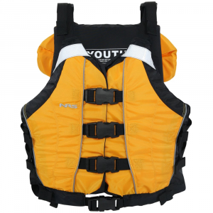 nrs big water v youth pfd- Save 20% Off - The NRS Big Water V Youth PFD is a serious life jacket designed for floating big water.. .  . . .  Four front buckles for easy entry/exit.  Youth size fits paddlers 50-90 lb..  Six side adjustments and two shoulder adjustments allow you to dial in the perfect fit.  Floatation collar helps keep your head above water when floating on your back .