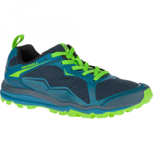 Merrell Mens All Out Crush Light Trail Running Shoes, Bright Green