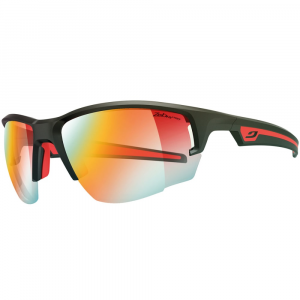 Julbo Venturi Zebra Light Sunglasses, Matte Black/red