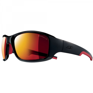 Julbo Stunt Spectron 3 Cf Sunglasses, Shiny Black/red