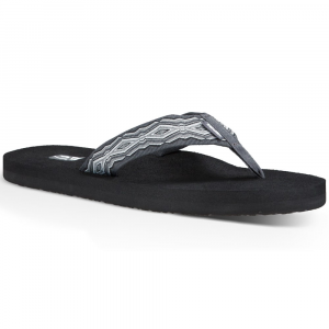 Teva Men's Mush Ii Flip Flops, Quincy Dark Grey