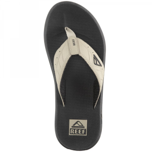 Reef Men's Phantoms Flip Flops, Black/tan