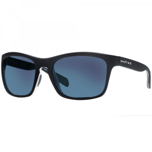 Native Eyewear Penrose(TM) Asphalt With Blue Reflex Lens Sunglasses