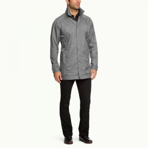 photo: Nau Men's Succinct Trench Coat waterproof jacket