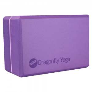 "Yoga Direct Dragonfly 4"" Foam Yoga Block"