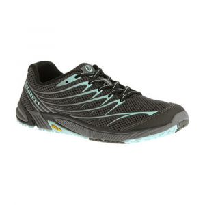 Merrell Womens Bare Access Arc 4 Running Shoes, Black/adventurine