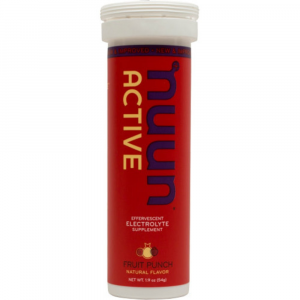 Nuun Active Effervescent Electrolyte Supplement