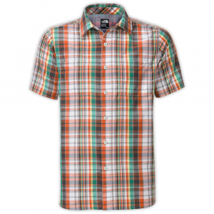 The North Face Mens Solar Plaid Short Sleeve Shirt