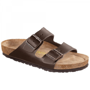 Birkenstock Mens Arizona Soft Footbed Sandals, Habana Oiled Leather