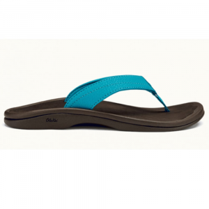 Olukai Women's 'ohana Flip Flops, Tropic Blue/dark Java