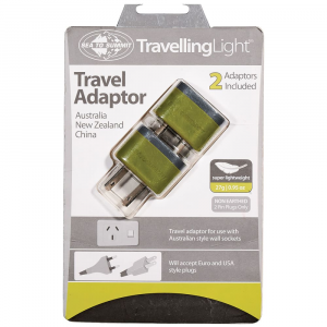 Sea To Summit Travelling Light TM Travel Adaptor