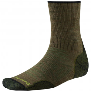 Smartwool Mens Phd Outdoor Light Mid Crew Socks