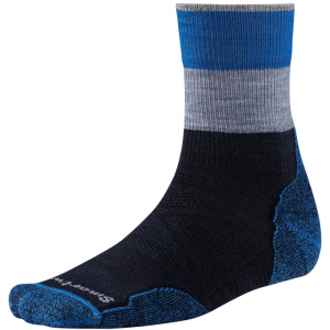 Smartwool Mens Phd Outdoor Light Patterned Mid Crew Socks