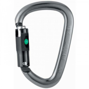 photo: Petzl William Ball-Lock locking carabiner