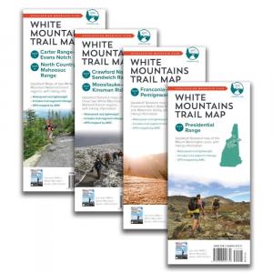 photo: Appalachian Mountain Club White Mountain Waterproof Map Set us northeast paper map