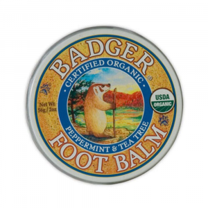photo: Badger Foot Balm hygiene supply/device