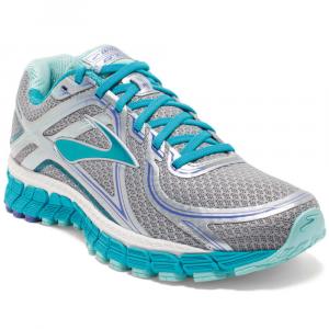 brooks womens adrenaline gts 16 running shoes, silver/bluebird- Save 25% Off - Brooks Womens Adrenaline Gts 16 Running Shoes, Silver/bluebird