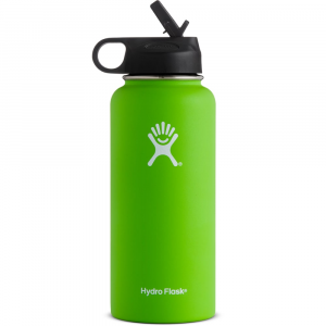 Hydro Flask 32 Oz. Wide Mouth Bottle With Straw Lid