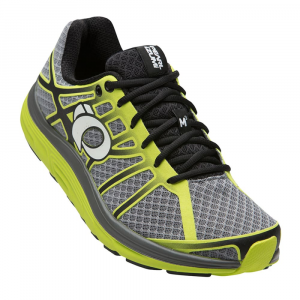Image of Pearl Izumi Men's Road M3 V2 Running Shoe, Smoked Pearl/lime Punch