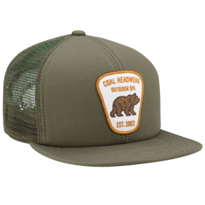 Image of Coal Mens Bureau Trucker Cap, Olive