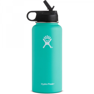 Hydro Flask 32 Oz. Wide Mouth Straw Lid Bottle