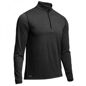 photo: EMS Techwick Essentials 1/4 Zip, L/S long sleeve performance top