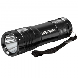 Life Gear Mini Pro Tactical Flashlight 100 Lumens