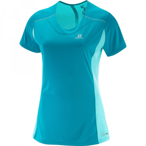 Salomon Women's Agile Short Sleeve Tee Size XL