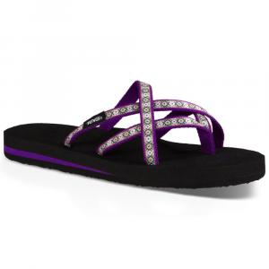 Teva Womens Olowahu Sandals Lola Dark Purple