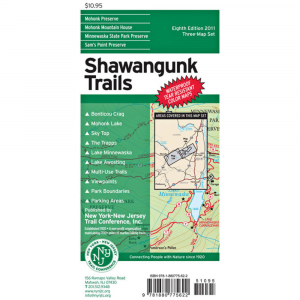 Ny/nj Trail Conference Shawangunk Trails Map