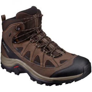 salomon mens authentic ltr gtx hiking boots, black/coffee- Save 20% Off - Salomon Mens Authentic Ltr Gtx Hiking Boots, Black/coffee