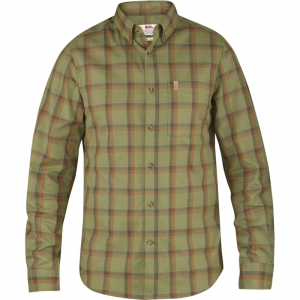 Fjallraven Men's Ovik Flannel Long Sleeve Shirt