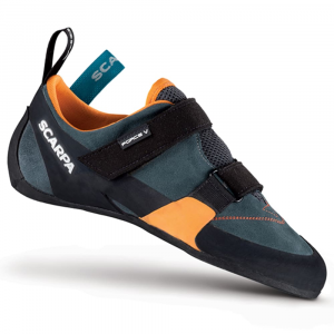 Scarpa Force V Climbing Shoes, Mangrove/papaya