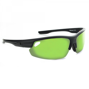 Optic Nerve Desoto Flip Off Sunglasses, Matte Black