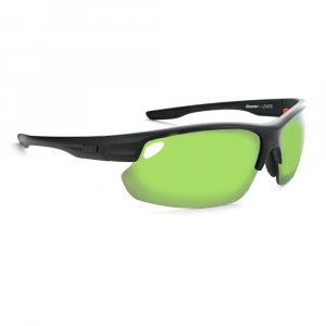 Optic Nerve Desoto Plus Flip Off Sunglasses, Matte Black