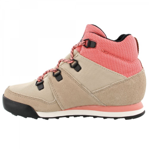 Image of Adidas Kids Snowpitch Hiking Shoes, Icey Pink/trace Khaki/energy Pink