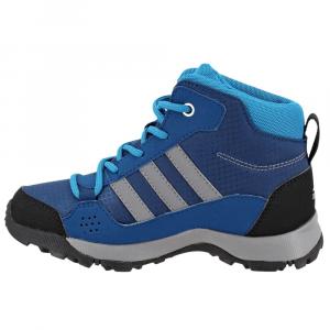 Image of Adidas Kids Hyperhiker Hiking Shoes, Blue Night/grey Three/mystery Petrol