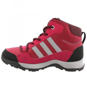 Image of Adidas Kids Hyperhiker Hiking Shoes, Mystery Ruby/grey Three/dark Burgundy