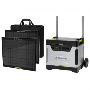 Goal Zero Yeti 1250 Power Station W/ Boulder 100 Briefcase Solar Panel Bundle