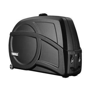 The Thule Round Trip Transition is a premium hard shell bike case with integrated work stand...