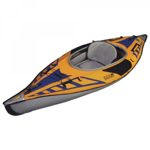 Image of Advanced Elements Advancedframe Sport Kayak, Gold/blue