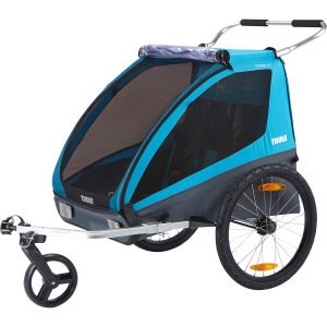 Your outdoor excursions with your child will never be the same with this Thule Coaster. Bike...