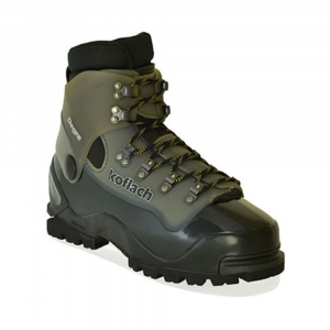 koflach men's degre mountaineering boots- Save 29% Off - Designed for winter hiking, the Koflach Degre Plastic Boots are compatible with Randonee ski bindings and nearly every kind of crampon and snowshoe. With greater flex and rocker than the typical plastic boot, the Degre is well suited for general mountaineering. . Y-Technology combines rigid plastic for support and secure crampon attachment with supple plastic for ease of lacing and natural walking comfort. Shank is less rigid than the Koflach Arctis Expe, but still stiff enough for technical terrain and use with rigid crampons. Vario cuff articulation allows natural lateral and fore-aft flex. Vibram Dalaugiri sole is optimal for high alpine expeditions, blending climbing 'zones,' push and brake 'zones,' and stability 'zones' for true all-mountain function. Steel roller lacing provides unparalleled tightening without unnecessary exertion. Rubber randing absorbs impact and improves climb-ability. Fully lace-removable inner boot made from both open- and closed-cell foam to maximize insulation while blocking out moisture; accommodates all foot volumes and shapes. Inner boot features thermo-formable heel and ankle padding (adapted from Atomic's alpine ski boots) and high-loft fleece to allow for a better performance fit, reduced heel lift, and increased comfort. Inner boot can be worn inside a tent or within a sleeping bag in expedition conditions. Please note: Sizes listed above are UK sizing; UK 8 = US 9; please refer to Size Chart for US size conversion