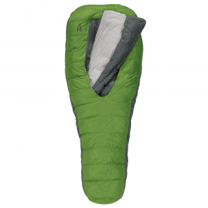 sierra designs 2-season backcountry bed 600 sleeping bag, long- Save 30% Off - Be a part of the sleeping bag revolution with the Sierra Designs 2-Season Backcountry Bed 600 Sleeping Bag. Designed to let you roll around naturally while simultaneously keeping you warm and comfortable, this bag makes sleeping in the wilderness as comfortable as sleeping at home. . Zipperless design means no unnecessary hardware, cords, or Velcro to get in the way of a comfortable nights sleep. 600-fill DriDown; compared to untreated down, DriDown insulation stays drier 10x longer, retains nearly 3x more loft when exposed to moisture, and dries 33% faster. EN (European Norm) rated 37degF high limit and a 27degF low limit. Large oval opening is designed to intuitively adjust in width to seal out cold drafts. Versatile integrated comforter wraps naturally to your preferred sleeping position and lets you easily adjust to varying temperatures. Sleep comfortably and naturally in any position-on your back, side, or stomach. Insulated hand/arm pockets offer warmth under your arms when using the comforter outside the bag. Sleeping pad sleeve secures your pad to the bag to create the experience of a fully integrated bed. Includes stuff sack and storage sack.