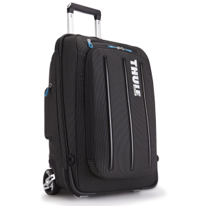 A one-of-a-kind hybrid upright, the Thule Crossover 38 L Rolling Luggage doubles as a backpack...