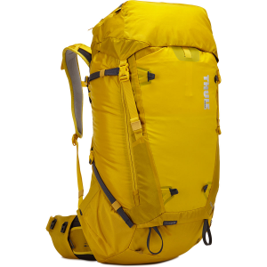 Versatile, lightweight expedition pack with customizable hipbelt, easy-access pockets, and a lid...