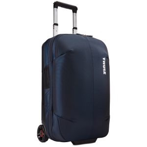 A sleek and durable 2-wheel carry-on complete with a compression panel to maximize packing space...