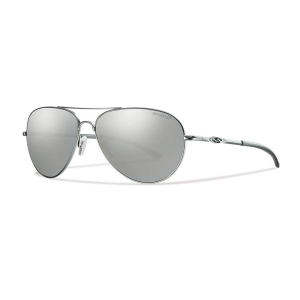 Smith Audible Sunglasses, Matte Silver/polar Gray