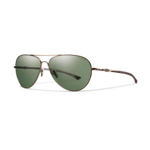 Smith Audible Sunglasses, Matte Gold/polar Gray